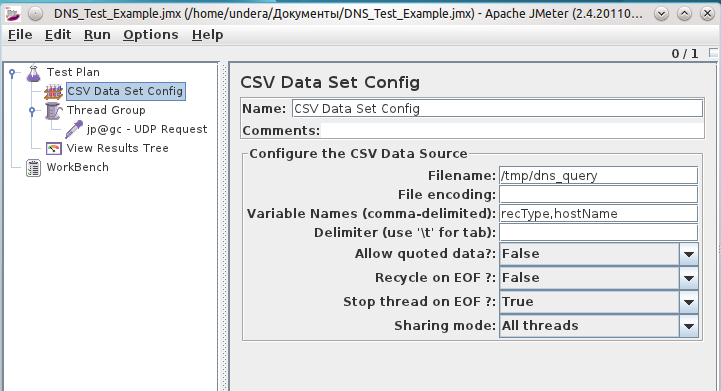 Reading data from CSV file